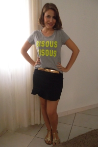 FALAR SOBRE: Look do Dia!